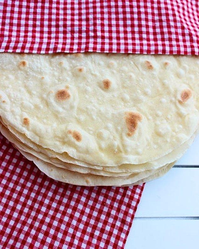 4. Yufka Ekmeği
