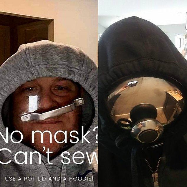 12. Biz yine maske takmaya devam edelim. 😂
