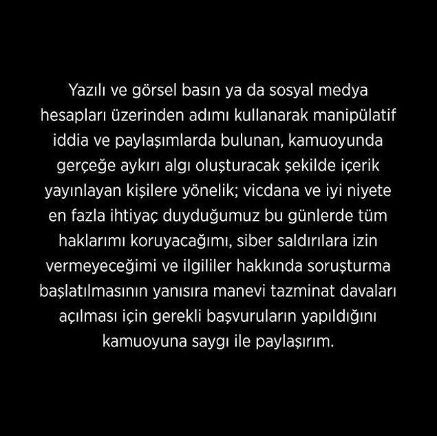 Ortalığı yıkan bu haberler sonrası Kerem Tunçeri'den şöyle bir açıklama geldi. 👇