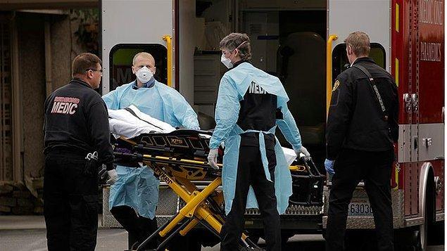 ABD'de koronavirüs nedeniyle hayatını kaybedenlerin sayısı 40 bin 490'a yükseldi