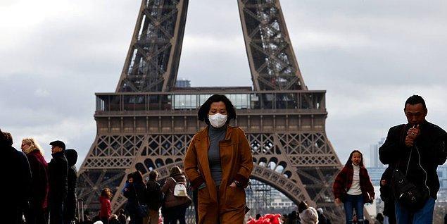 Fransa'da son 24 saatte 531 kişi hayatını kaybetti