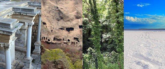 Kesin korunacak hassas bölge ilan edilen yerler şu şekilde👇