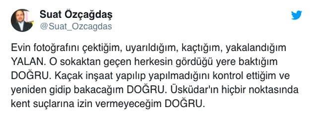 Sonrasında CHP Üsküdar İlçe Başkanı yaşanan olayda bir yakalanma olmadığını söyledi