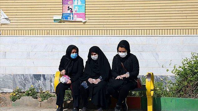İran'da son 24 saatte 90 kişi hayatını kaybetti