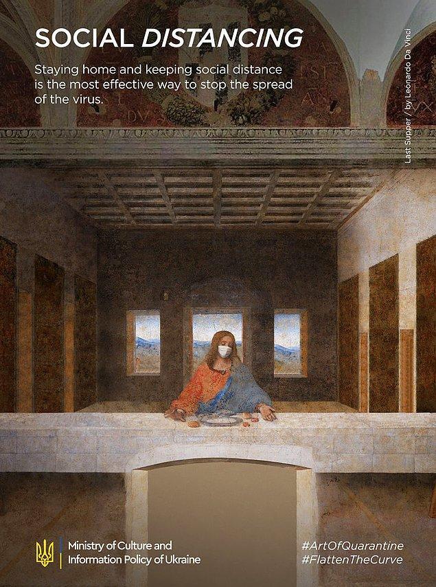 2. Leonardo Da Vinci, ''Last Supper''