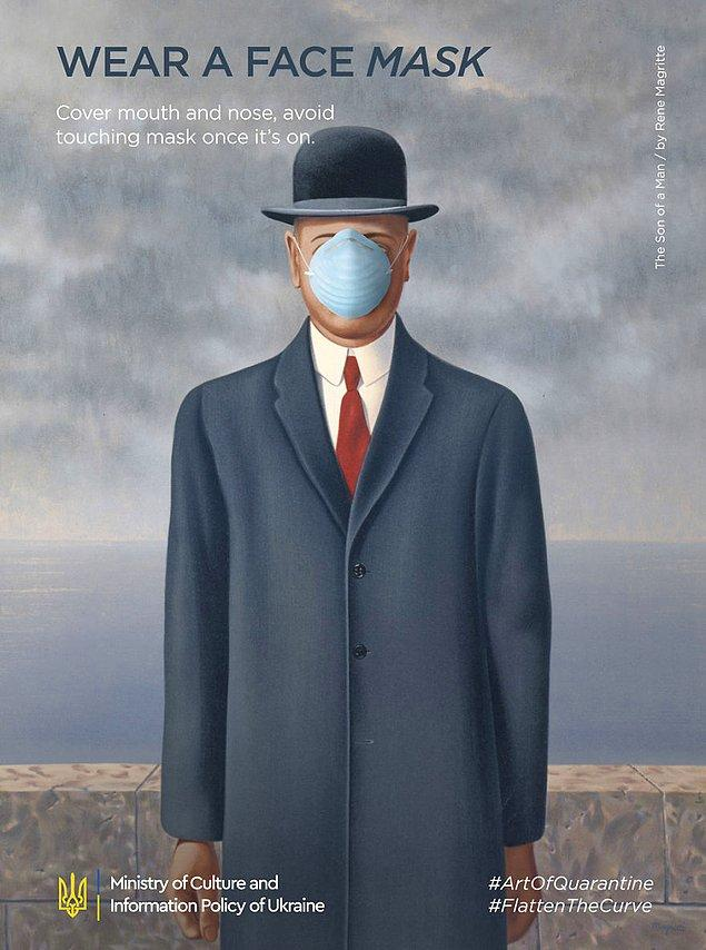 3. Rene Magritte, ''The Son Of A Man''