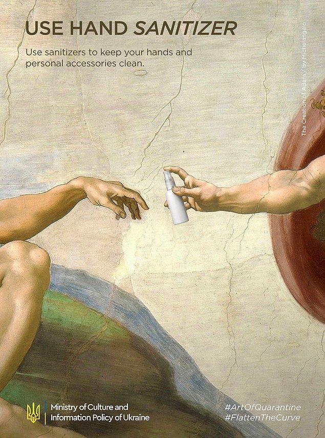 5. Michelangelo, ''The Creation Of Adam''
