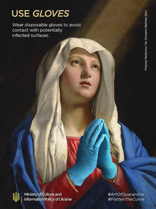 8. Giovani Battista Salvi, ''Praying Madonna''