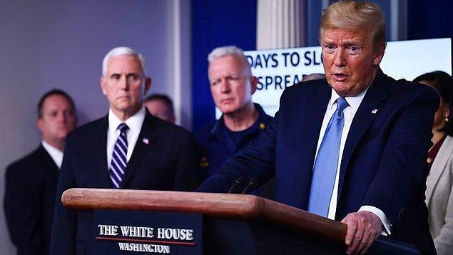 Trump, Güneş'in virüse karşı etkisinin anlatıldığı sunumdan sonra konuştu
