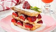 En Yakınlarının Doğum Gününü Görüntülü Konuşarak Kutlayacaksan: Çilekli Milföy Pasta