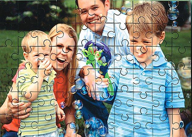 12. En sevdiğiniz aile fotoğrafından puzzle yaptırabilirsiniz.