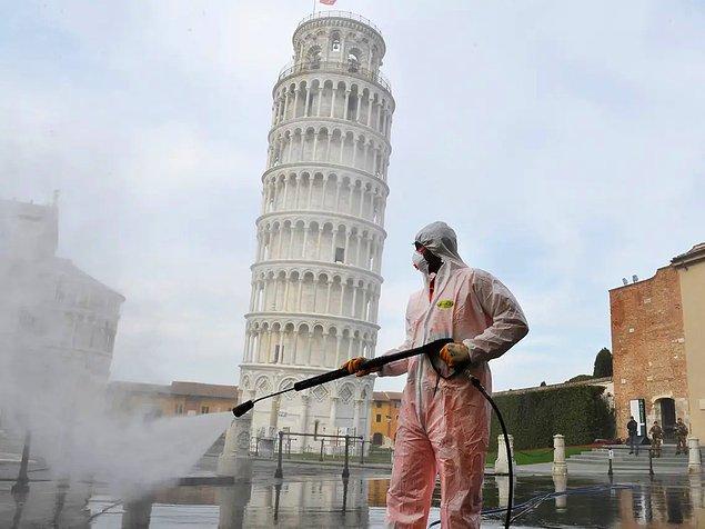 İtalya'da günlük can kaybı son bir ayın en düşük seviyesine indi