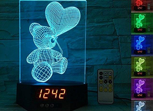7. Sabah çocuğunuzun baş ucunda çalan alarmı sempatikleştirmek için bu harika saatlerden birini alabilirsiniz.