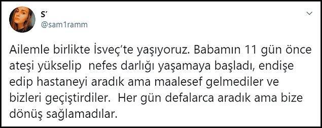 Samira Gülüşken, bir süre önce yaptığı paylaşımda 'Bizi geçiştirdiler, defalarca aradık dönüş yapmadılar' demişti. 👇