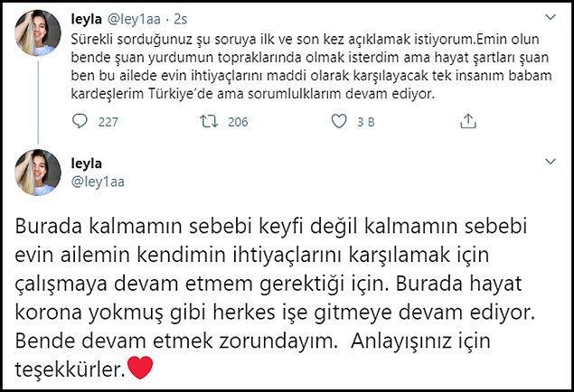 Türkiye'ye neden gelmediği ile ilgili de bu açıklamayı yaptı. 👇