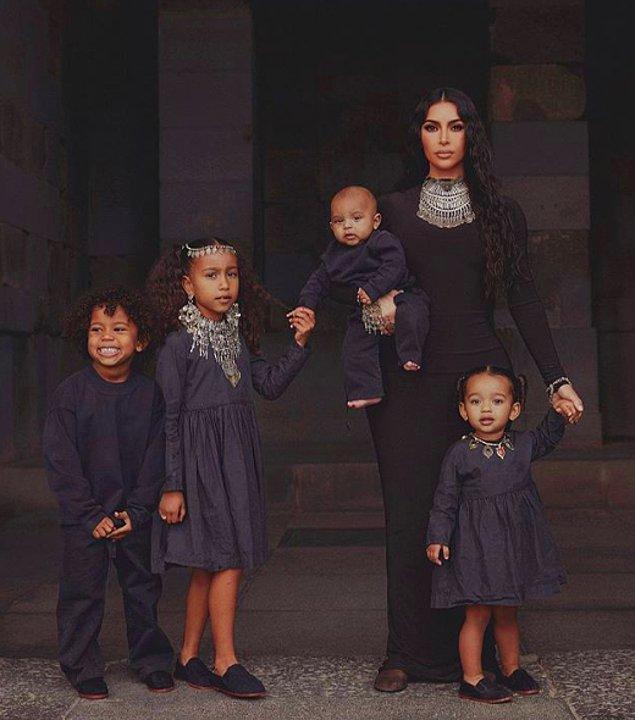 Attığı her adımla tüm dünyaya adından söz ettiren Kim Kardashian aslında Ermeni asıllı.