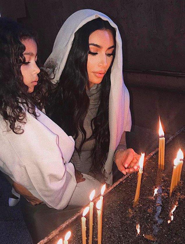 Kardashian bugün yaptığı paylaşımlarla 1915 yılında Ermenistan'da yaşananlara dikkat çekti...