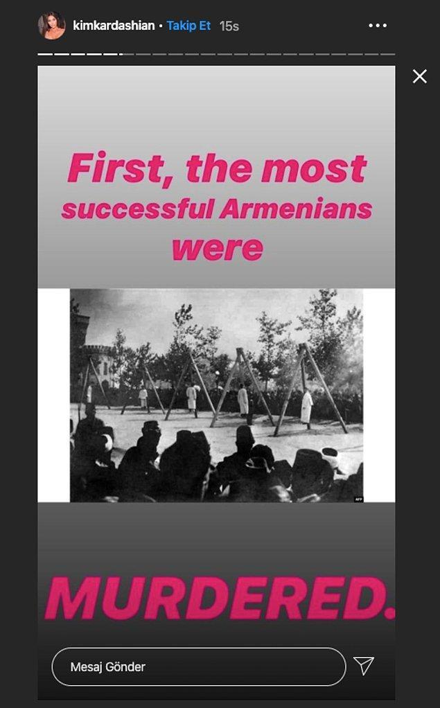 """""""İlk başta en güçlü Ermeniler öldürüldü."""""""