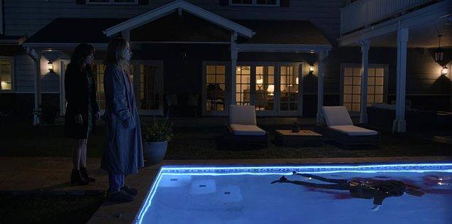 Dizinin son sahnesinde ise Jen, Steve'i vurmuş ve Judy'i aramıştı hatırlarsanız...