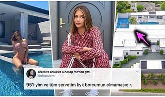 Kylie Jenner'ın Kendini İnceltmek İsterken Yamulttuğu Masal Gibi Havuzlu 36.5 Milyon Dolarlık Malikanesini İnceliyoruz