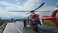 Acil İniş Yapmak İstedi: Tarla Sahipleri İzin Vermeyince Hava Ambulansı Hastayı Alamadan Döndü