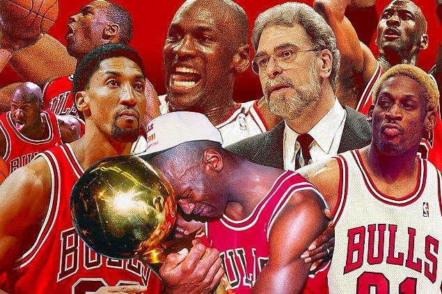 Michael Jordan'ın hayat hikayesine dahil olurken ve 1986-1989 döneminde takımın Jordan'ın üzerine kurulmasıyla ilerlerken yeni ve tüm dünyanın karşı koyamayacağı fenomen takım oluşuyor.