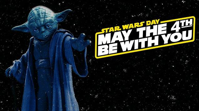 Bugün, Star Wars sevdalıları için özel bir gün. Malum, hepimizin içini neşeyle ve en çok da 'güçle' dolduran mayıs ayının 4'ü gelip çattı. O zaman kutlu olsun!