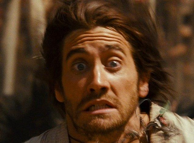 9. Jake Gyllenhaal - Devekuşu korkusu ('Prince of Persia: The Sands of Time')