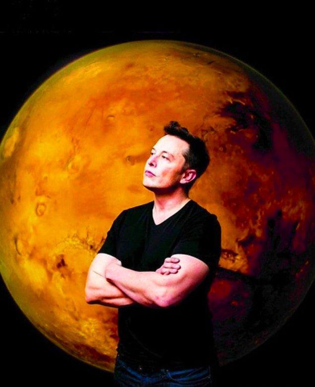 Biliyorsunuz ki, sıfırlarını saymaya matematiğimizin yetmediği bir servete sahip Elon Musk.