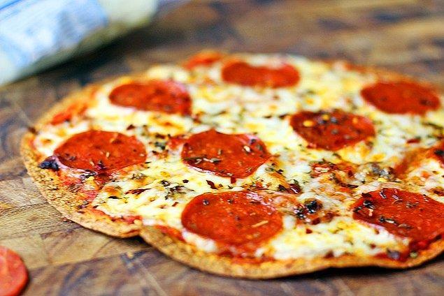 2. Göz açıp kapayıncaya kadar hazır: Lavaştan Pizza