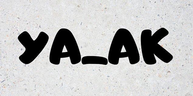 1. Eksik harfli verilen kelimeleri kafanda nasıl dolduruyorsan işaretle! Haydi başla bakalım .👇