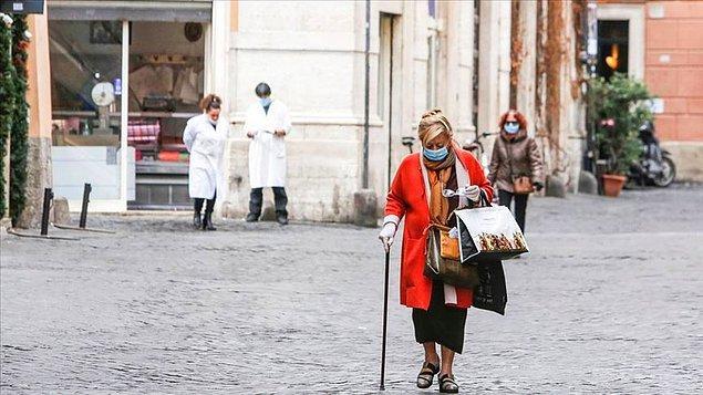 İtalya'da 24 saatte 360 can kaybı
