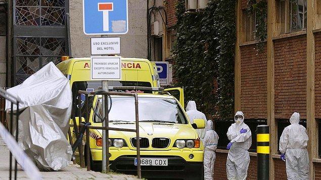 İspanya'da ölü sayısı 26 bin 70'e çıktı