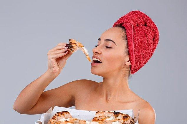 2. Aslına bakarsanız yemek sonrası duş normalde de riskli.