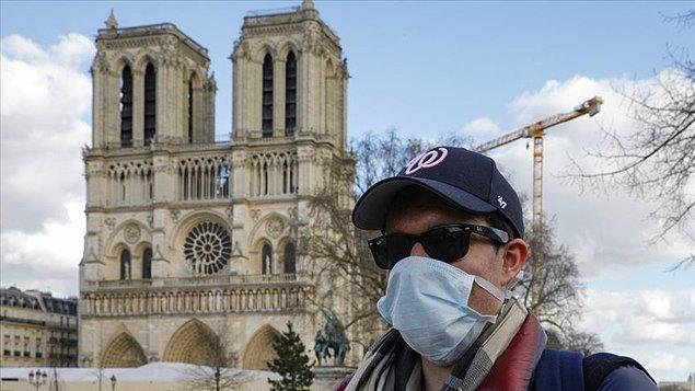 Fransa'da bugünkü can kaybı 178