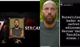 Survivor'da Oylamada Sonuncu Olan Sercan'ın Ailesinden Bursalılara Sitem: ''Bursa Halkı Hiçbir Şeyi Hak Etmiyor''