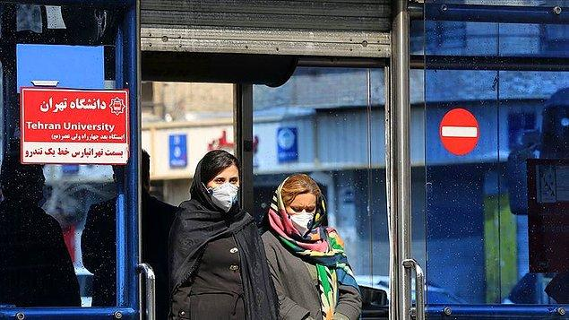 İran'da ölü sayısı 6 bin 541'e yükseldi
