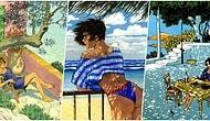 Muhteşem Çizimler Eşliğinde Umut Dolu Bir Yaz Masalının İçine Girerken Kendinizi Tatilde Hissedeceksiniz