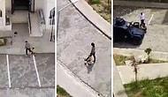 Mardin'de Bir Çocuğu Havaya Ateş Açarak Yakalayan Polis Tepkilerin Odağında