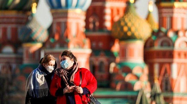 Rusya'da vaka sayısındaki artış devam ediyor