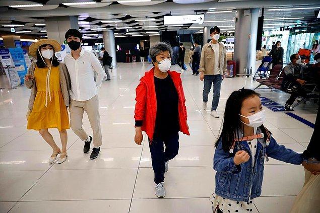 Güney Kore'de yetkililer 1.510 kişinin izini sürüyor