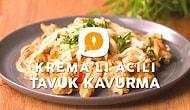 Sütaş Krema'lı Acılı Tavuk Kavurma