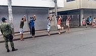 Sokağa Çıkma Yasağına Uymayan Çocuklara Hayali Basket Atma Cezası Veren Polis