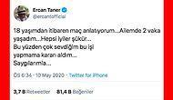 Futbolun Devam Kararına İlk Somut Tepki! Ercan Taner Koronavirüs Yüzünden Spikerlik Yapmayacağını Açıkladı