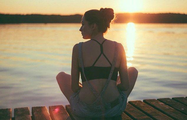 2. Rahatlamak için kendinize zaman ayırdığınızdan emin olun.