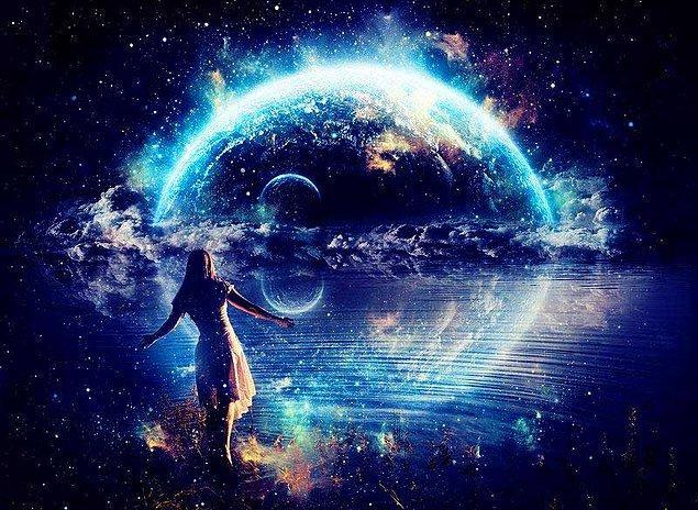 Evrenin bir parçası olduğunu bilerek yaşa ve böyle davran.