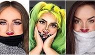 Maske Yüzünden Yaptıkları Makyajın Görünmemesinden Yakınan Sosyal Medya Kullanıcılarından Yeni Minik Yüz Makyajı Akımı