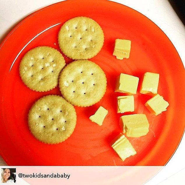 """7. """"Çünkü peynir ve kraker istemiş, kraker ve peynir değil!"""""""