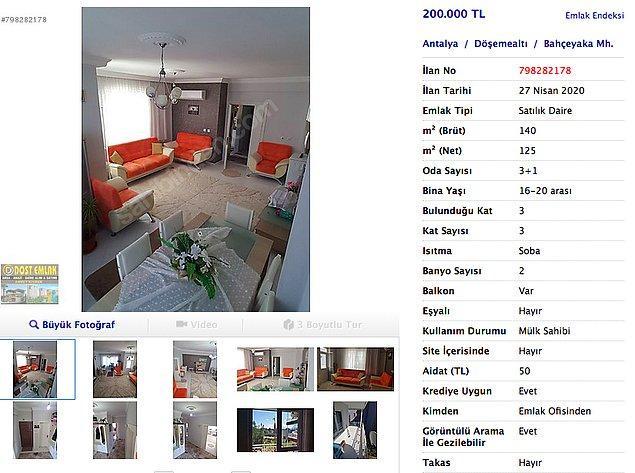 Yazlık yerde ev almanın zorluğunu herkes bilir ama Antalya'da 200 bin TL'ye bu ev mevcut. Bu fiyata bu büyüklükte ve içi yapılı olan bir evi asla ve asla İstanbul'da bulamazsın...
