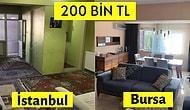 200 Bin TL'lik İstanbul'da Alabileceğiniz Evler ile Anadolu'da Alabileceğiniz Evlerin Farkı Size Hayatı Sorgulatacak